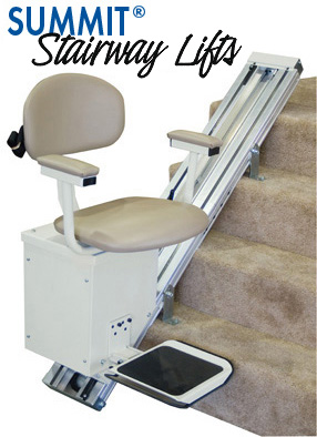 Summit Chair Lift american made - most reliable stair lift - summit